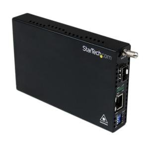 StarTech.com  Gigabit Ethernet Fiber Media Converter with Open SFP Slot