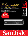 SanDisk SDCZ88-128G 128GB Extreme PRO USB 3.0 Flash Drive
