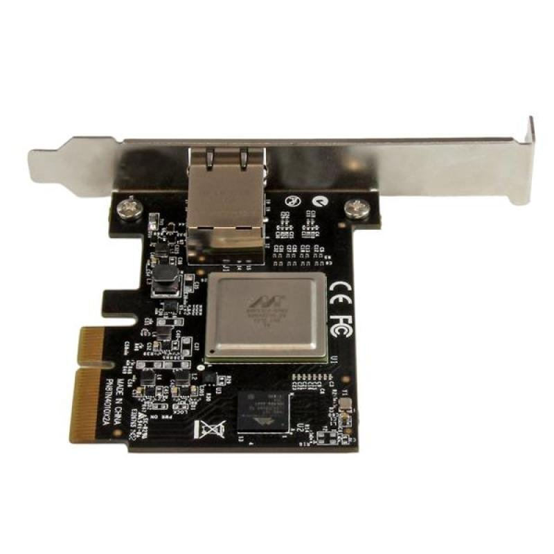 StarTech.com 1 Port PCI Express 10 Gigabit Ethernet Card - PCIe x4 10Gb NIC