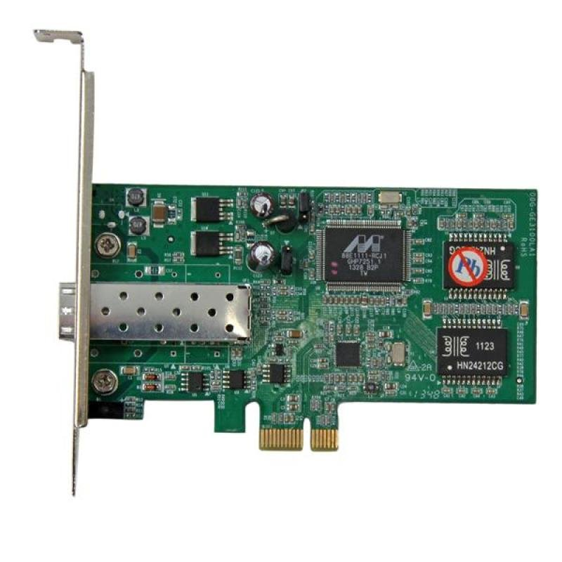 Pci Express Gigabit Ethernet Fiber Network Card W/ Open Sfp - Pcie Sfp Network Card Adapter Nic