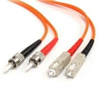 StarTech.com Multimode Duplex Fiber Optic Cable ST-SC (3m)