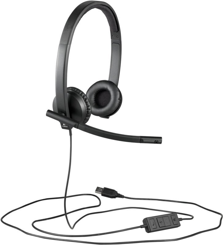 Image of Logitech Usb Headset H570e - Headset - On-ear - Vertical