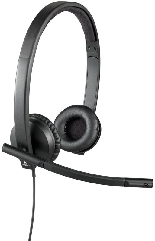 Logitech Usb Headset H570e - Headset - On-ear - Vertical