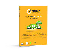 Symantec Norton Security with Backup 2.0 25GB 1 user 10 devices Card
