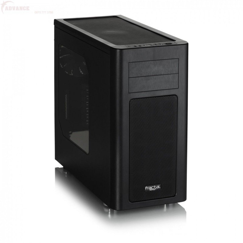 Fractal Design Arc Mini Pc Case (black) With Window