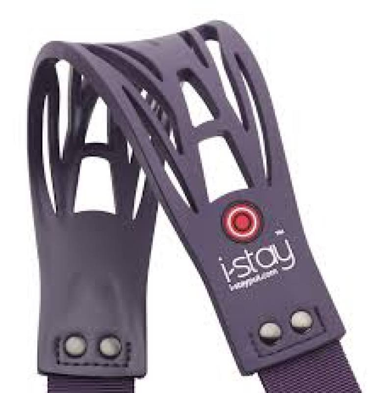 Image of Falcon I-stay Non-slip Replacement Bag Strap Purple Is0905