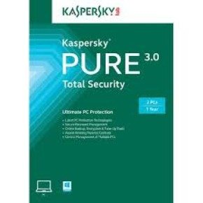Kaspersky Pure 3.0 Total Security 3 User 1 Year - Electronic Software Download