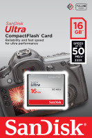 SanDisk Ultra 16GB CompactFlash Memory Card