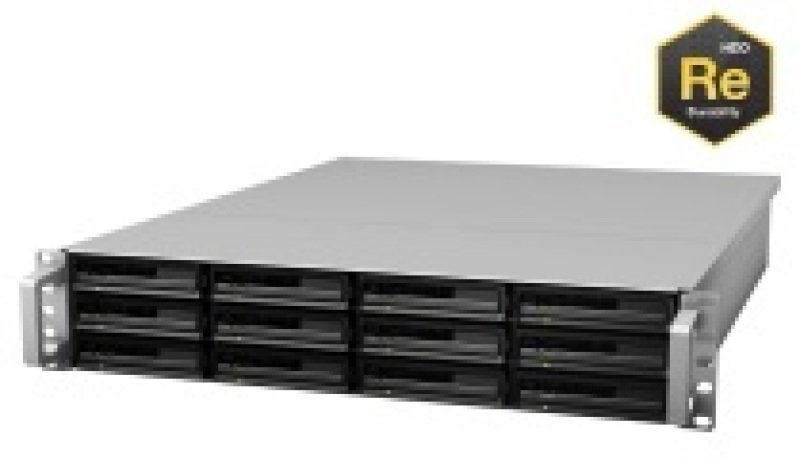 Synology RX1213sas 36TB (12 x 3TB WD RE) 12 Bay 2U Rack Expansion Unit