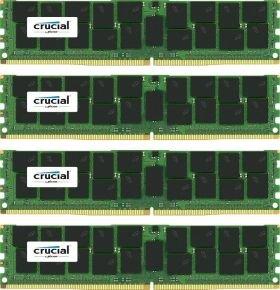 Crucial 64GB kit (16GBx4) DDR4 2133MHz PC4-17000 Registered ECC 1.2V Memory