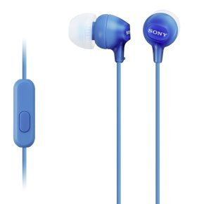 Sony EX15 Blue Mobile In Ear Headphones