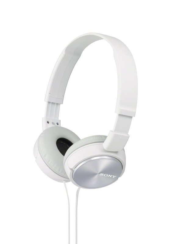 Sony ZX310 White Over Ear Headphones