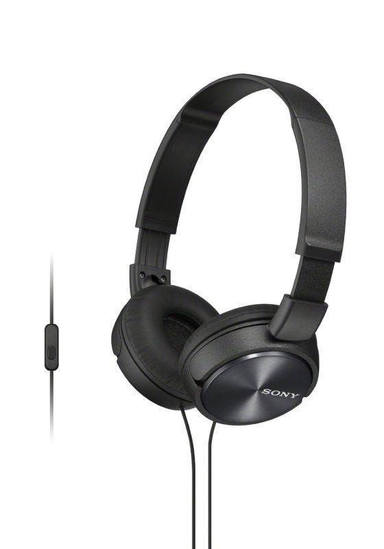 Sony ZX310 Black Mobile Over Ear Headphones