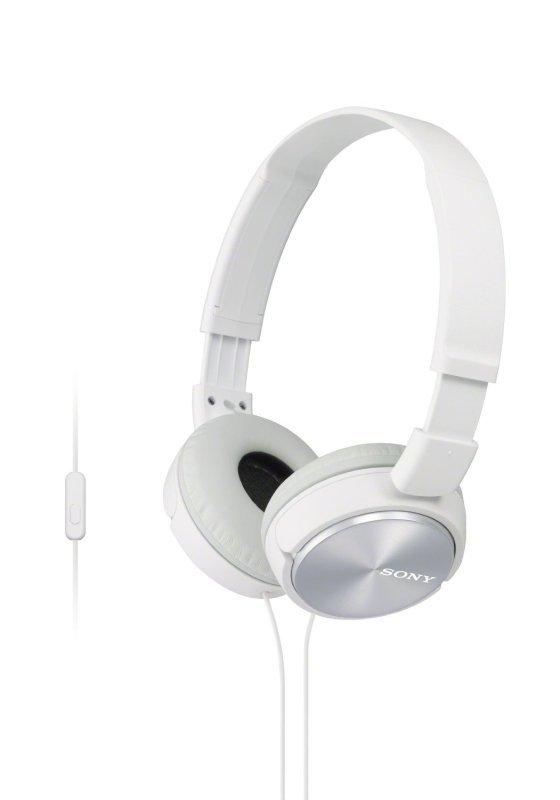 Sony ZX310 White Mobile Over Ear Headphones