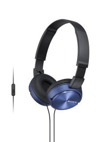 Sony ZX310 Blue Mobile Over Ear Headphones