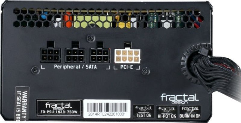 Fractal Design Intergra M 750w Semi Modular Power Supply