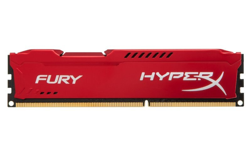 HyperX Fury Red Series 4GB 1333MHz DDR3 CL9 DIMM Memory