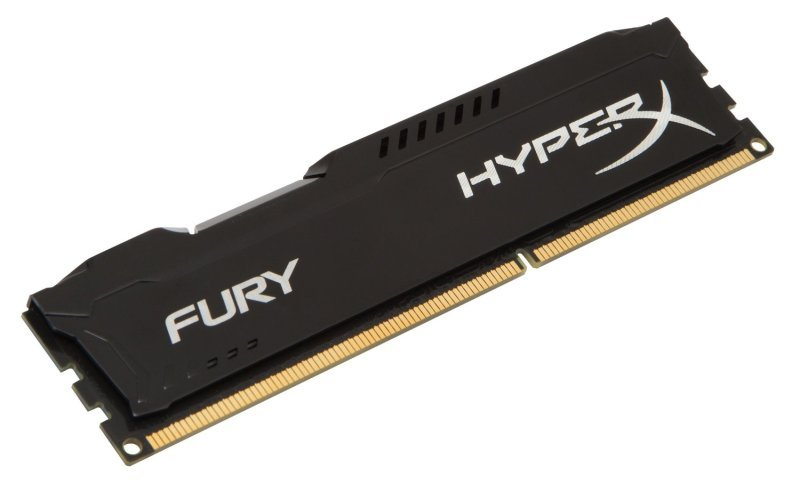 HyperX Fury Black 8GB 1600MHz DDR3 CL10 DIMM Memory