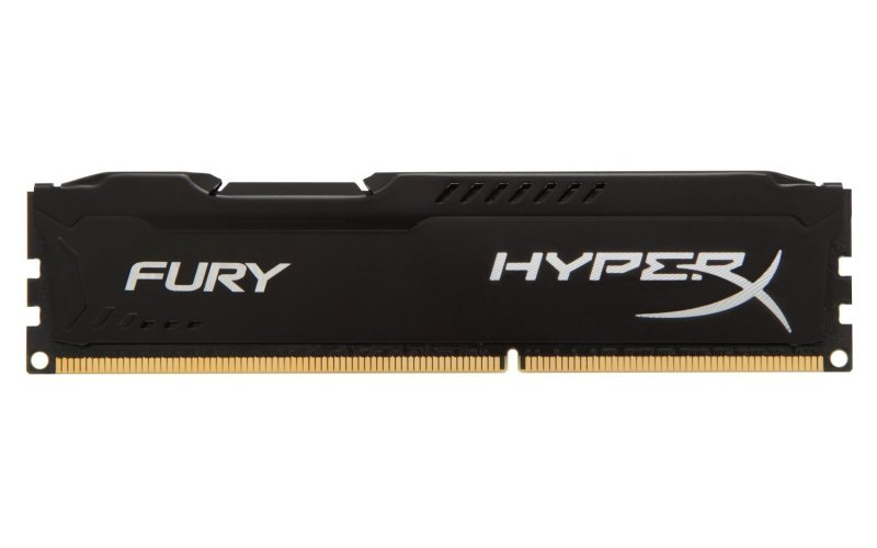 HyperX Fury Black Series 4GB 1866MHz DDR3 CL10 DIMM Memory
