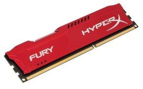 4GB 1866MHz DDR3 CL10 DIMM HyperX Fury Red Series