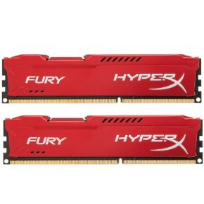 8GB 1866MHz DDR3 CL10 DIMM (Kit of 2) HyperX Fury Red Series