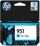 HP 951 Cyan Officejet Ink Cartridge - CN050AE
