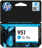 HP 951 Cyan Original Ink Cartridge - Standard Yield 700 Pages - CN050AE