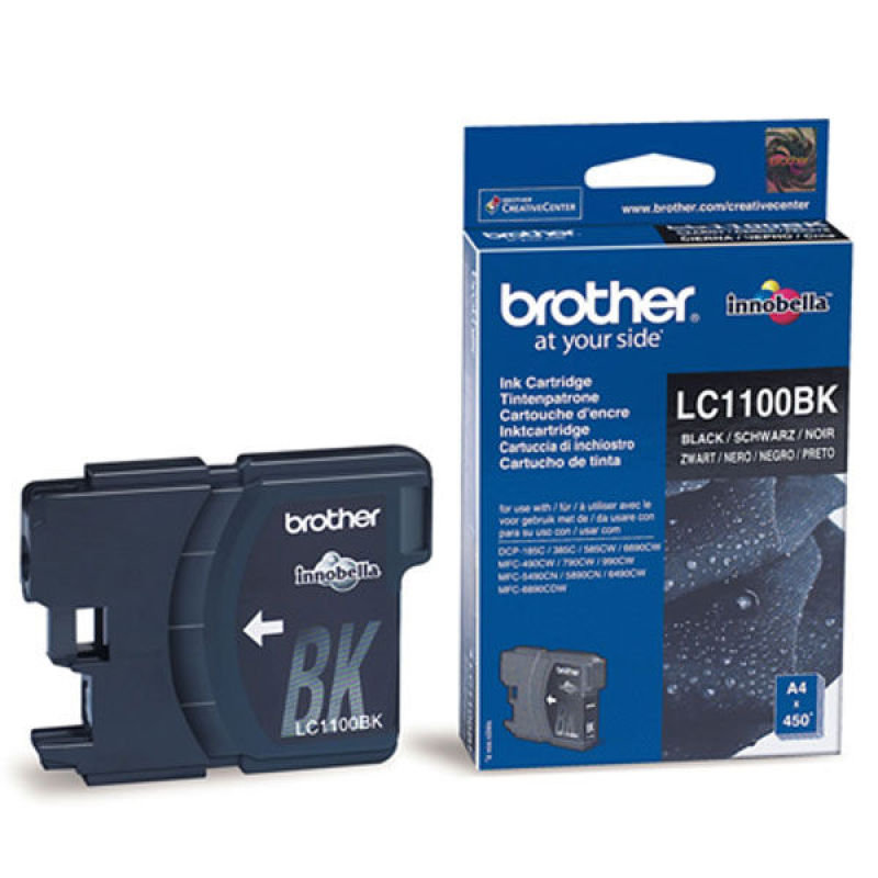Brother LC1100HYBK High Yield Black Ink Cartridge