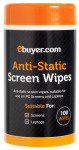Ebuyer.com Anti Static Screen Cleaning Wipes - 100 Pack