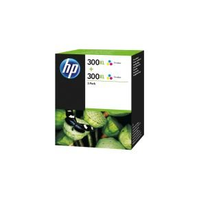 HP 300XL Tri Colour Ink cartridge - Twin Pack - D8J44AE