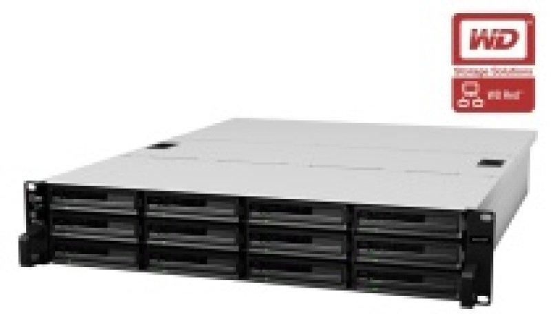 Synology RX1214 48TB (12 x 4TB WD Red Pro) 12 Bay 2U Rackmount Expansion Unit