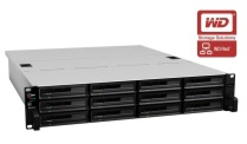 Synology RackStation RS3614xs 24TB (12 x 2TB WD Red Pro) 12 Bay 2U NAS