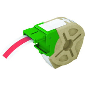 Leitz Icon Red Continuous Plastic Label Roll - 12mmx10m