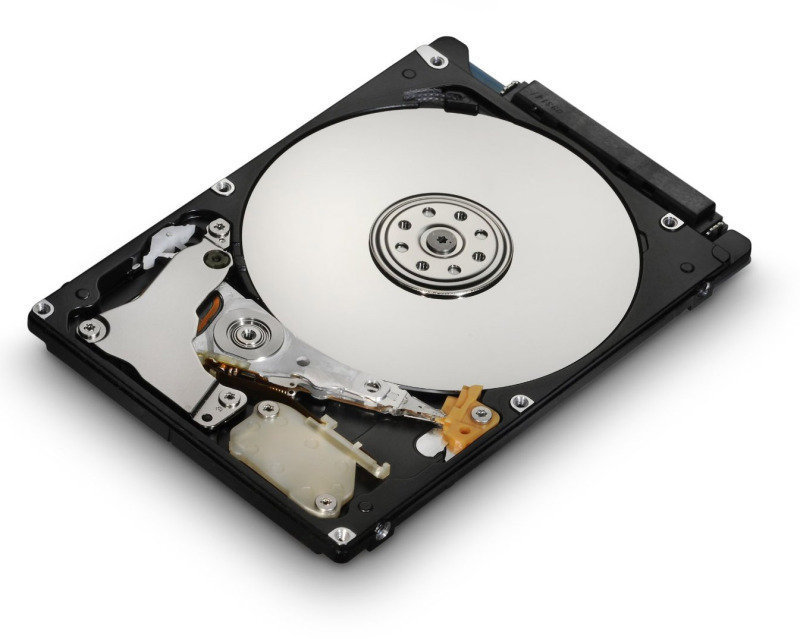"Image of HGST TravelStar 2.5"" 7MM 500GB 5400RPM HDD"