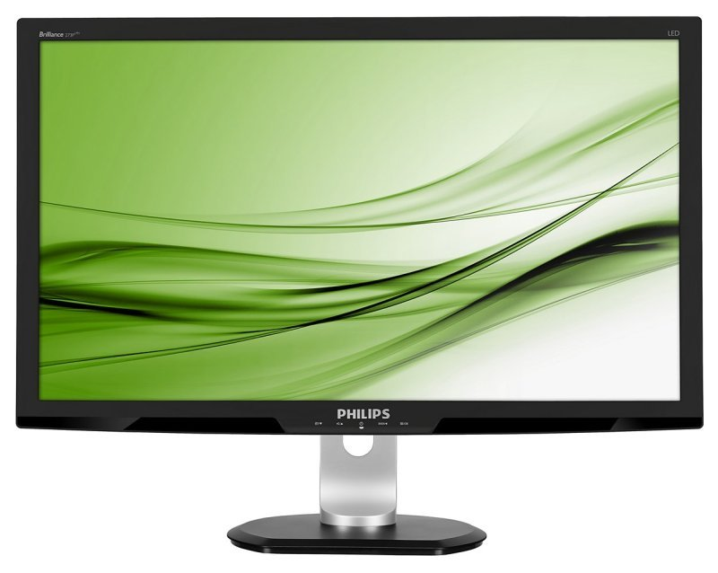 """Philips 273P3 LCD LED 27"""" HDMI Monitor  Speakers"""