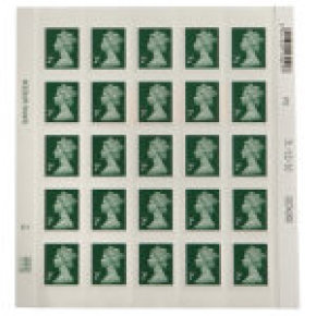 Royal Mail 2p Postage Stamps - 25 pack