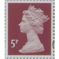 Royal Mail 5p Postage Stamps - 25 pack