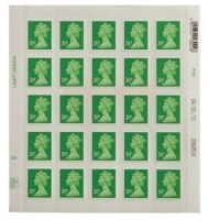 Royal Mail 20p Postage Stamps - 25 pack