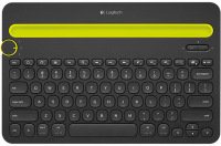 K480 Bluetooth Multi-Device Keyboard - Black