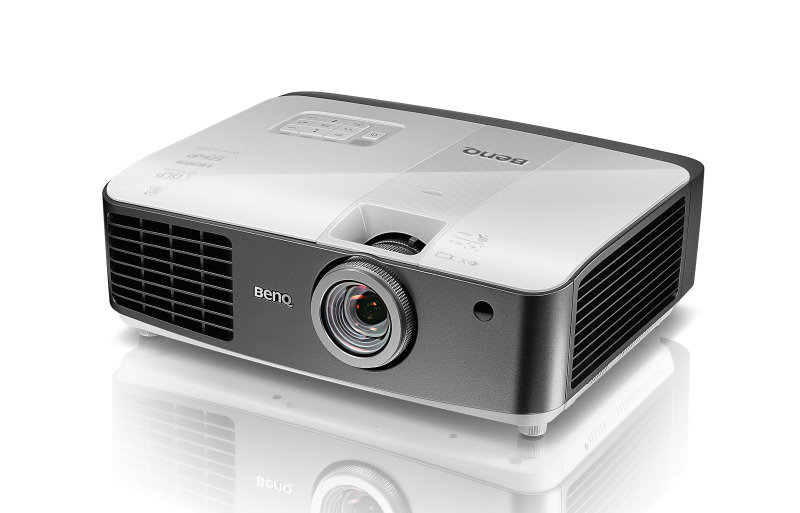 Image of BenQ W1400 DLP 1080p Full HD 2200 Lumens Short Throw Projector