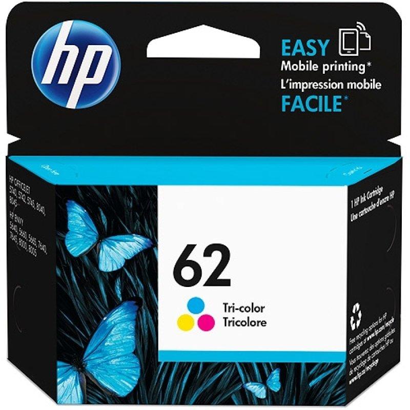 HP 62 Tri-Colour Ink Cartridge - C2P06AE