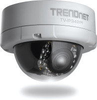 TRENDnet Outdoor 2MP Full HD Vari-Focal PoE Day/Night Dome Network IP Camera