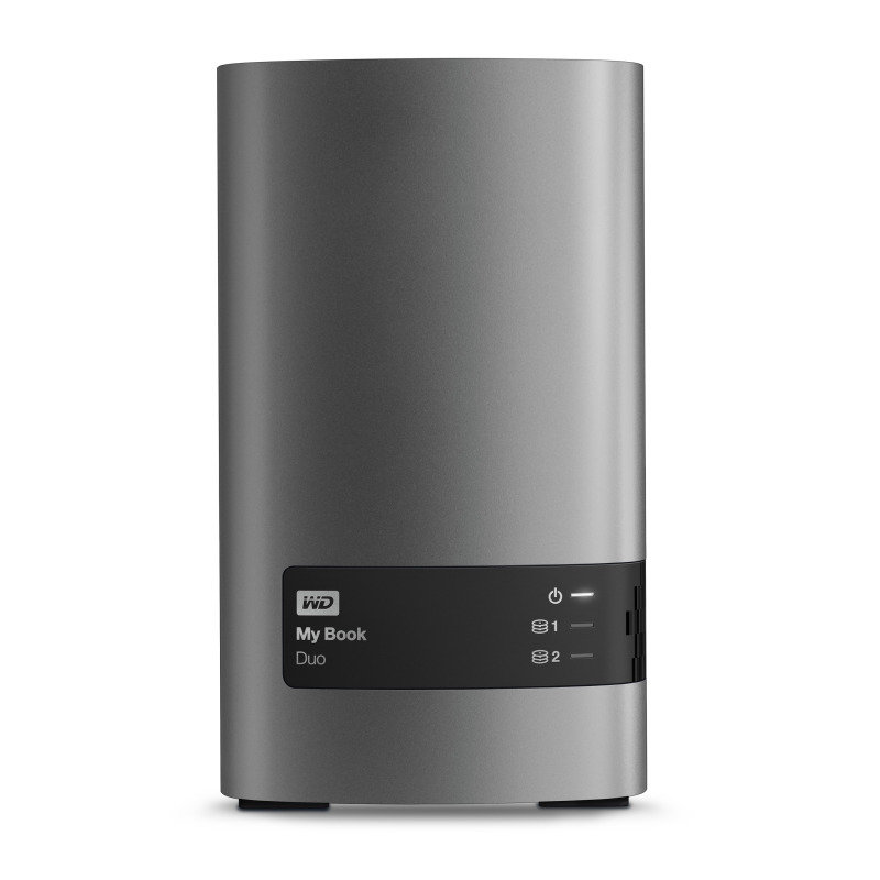 WD My Book Duo DualDrive RAID Storage 4TB USB 3.0 External Hard Drive