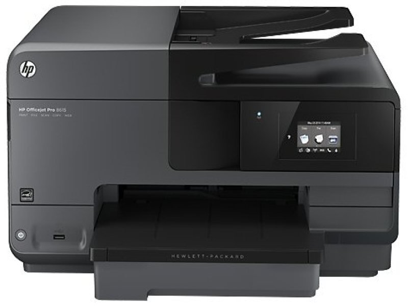 Image of HP Officejet Pro 8615 Wireless e-All-in-One Duplex Printer with Free ReadIris Scanning Software