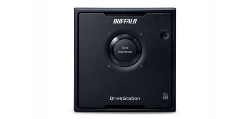 Image of Buffalo DriveStation Quad 8TB USB 3.0 NAS