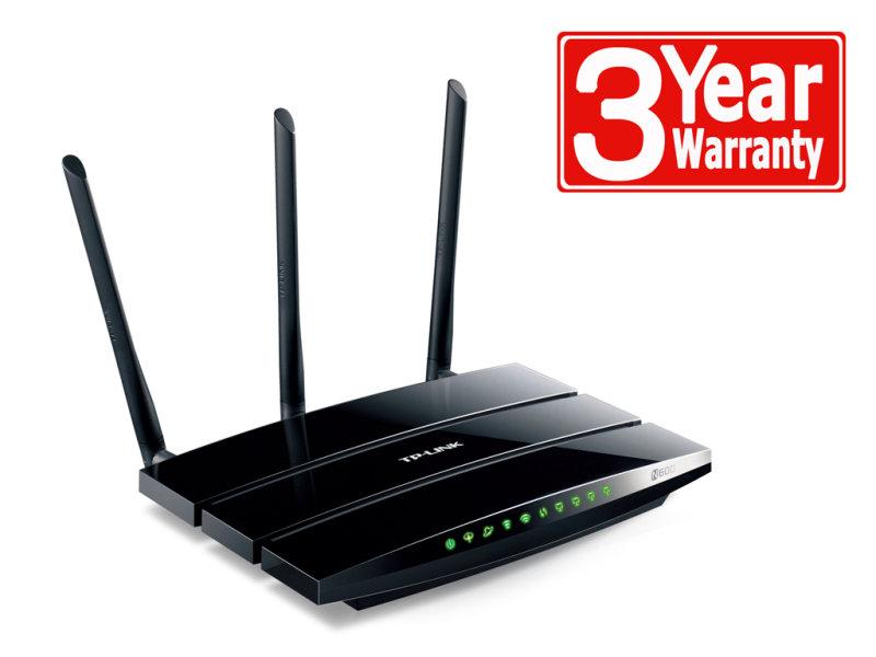 Image of TP-Link TD-W9980 N600 Wireless Dual Band Gigabit VDSL2/ADSL2+ Modem Router