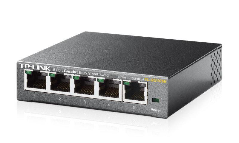 TP-Link TL-SG105E 5-Port Gigabit Easy Smart Network Switch