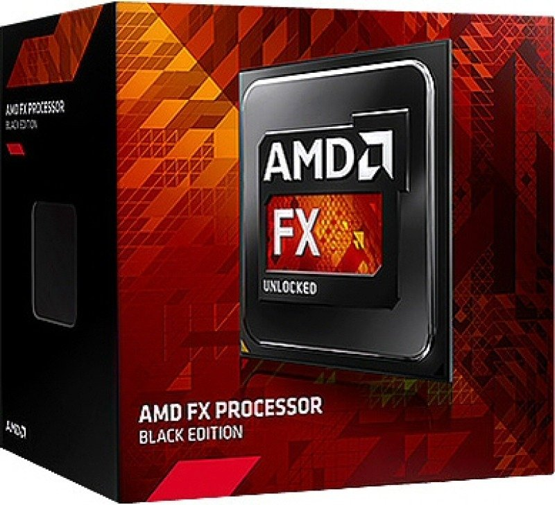 AMD FX 8370E Black Edition 3.3GHz Socket AM3 8MB L2 Cache Retail Boxed Processor