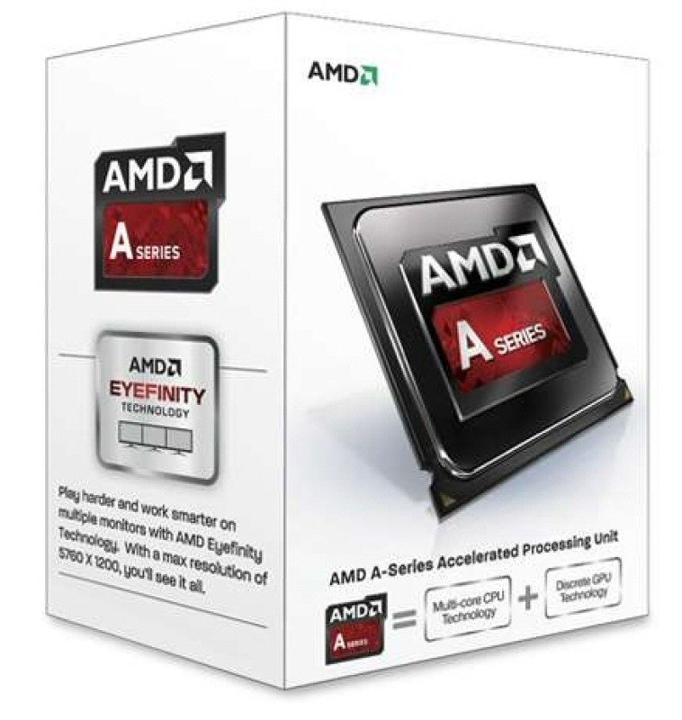Image of AMD A8-7600 3.1GHz Socket FM2+ 4MB L2 Cache Retail Boxed Processor
