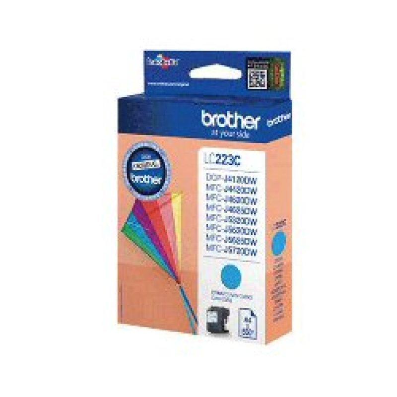 Brother LC223C Cyan Ink Cartridge